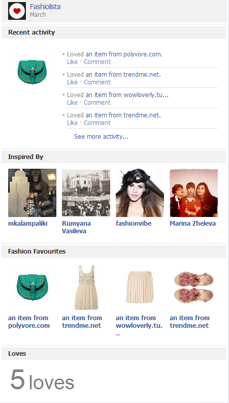 Fashiolista: Pinterest for the fashion world