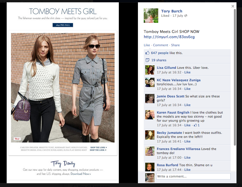 Facebook Engagement for Fashion Brands: 5 Signs You Are Doing it Wrong  (1/5)